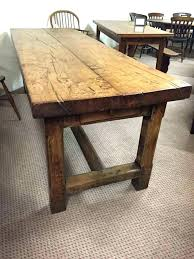 farmhouse table for old farmhouse table old rustic dining tables for rustic refectory m