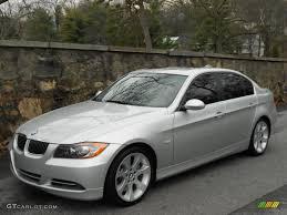 BMW Convertible 2007 335i bmw : Titanium Silver Metallic 2007 BMW 3 Series 335i Sedan Exterior ...