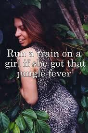 Run the train on a girl