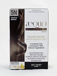 Aequo Color Chart Aequo Color Cream Kit 5n Truffle Brown