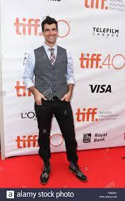 Toronto, Ontario, Canada. 12th Sep, 2015. Actor BENJAMIN AUGUST ...