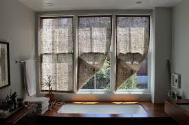 The Shingled House DIY Easy Burlap Shades For Less Than 20 Each Burlap Window Blinds