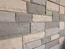 lightweight polyurethane decorative fake rock wall panels exterior stone look wall paneling stone cladding tiles