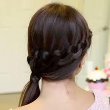Hairstyle Waterfall loop waterfall braid hairstyle 3870 by stevesalt.us