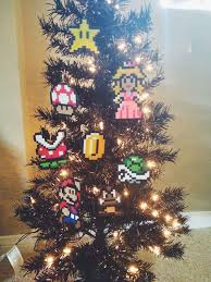 Gamer Tree Toppers  Super Mario Christmas OrnamentsSuper Mario Christmas Tree