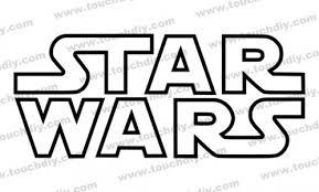 star wars template star wars logo