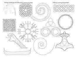 Viking Patterns Gorgeous Viking Carvings Symbols Thematic Design Phillipshakesbymasters