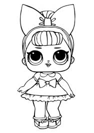 Lol Surprise Coloring Pages Queen Bee Free Printable Coloring