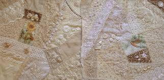 Ivory Blush Roses: Cream & White Crazy Quilt ~ making progress! & Cream & White Crazy Quilt ~ making progress! Adamdwight.com