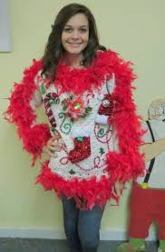 Show Girl Glam Light up Fiber Optic flower Tacky Ugly Christmas Sweater Red Feather Foo Boa womens sz S-M- Snowflake Lime