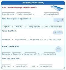 Volume And Capacity Chart Pool Capacity Calculator Venomoutlaws Org