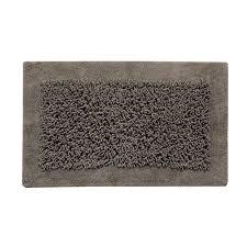 saffron fabs 2 pc bath rug set cotton and chenille 24x17 and 34x21