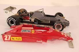 La ferrari 126c2 est la première voiture à châssis monocoque en aluminium de la scuderia. 1982 Ferrari 126 C2 Scale 1 12 Tamiya Build Model Catawiki