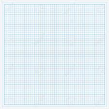 Blue Graph Paper Vector Illustration