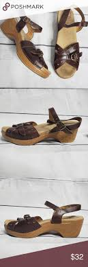 Dansko Silly Sandal Brown Size 40 Dansko Size Chart Says A