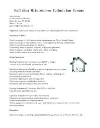 Resume For Maintenance Worker Cool Field Service Technician Resume Sample Sample Professional Resume