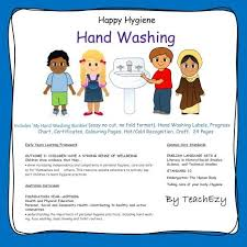 Hand Washing Happy Hygiene Eylf Outcome 3 2 Children Take