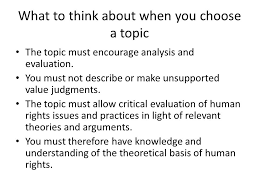 writing an extended essay in human rights ppt video online 3 what