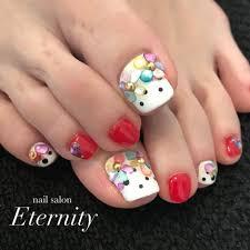 春夏海リゾートフット Nailsaloneternityのネイルデザインno
