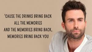 Cut Copy Lights And Music Lyrics Maroon 5 Memories Lyrics