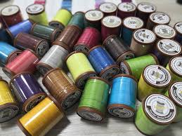 waxed linen thread for hand sewing leather image 0