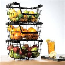 countertop fruit basket stand