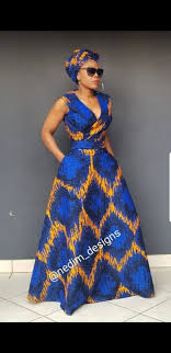 Blue African Dress Designs African Maxi Dresses Nedim_designs 27829652653