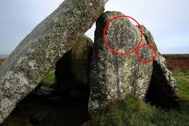 According to english heritage, stonehenge was built in stages: Alien Graffiti Painted On Ancient Stonehenge Style Monument In Cornwall