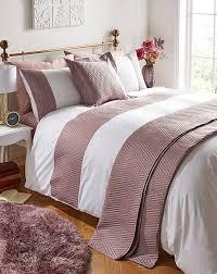 manhattan duvet cover set select colour dusky pink grey teal div class control