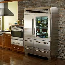 born of steel and a good bit of bravado the sub zero pro 48 ideas of glass door refrigerator residential