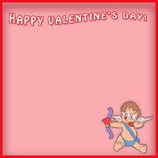 happy valentines day borders. Unique Borders Happy Valentineu0027s Day With Cupid Inside Valentines Borders D