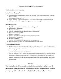 Compare Contrast Essay Outline Google Search College