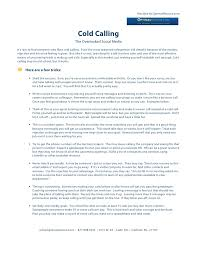 Calling For A Job Cold Calling In The Job Search