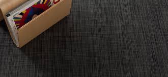 chilewich  floor  woven floor mats  ikat  deep grey