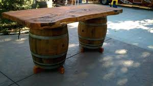 wine barrel furniture walla wa