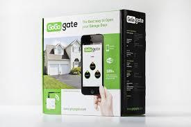 open garage door with iphoneGoGogate Garage Door Opener for iPhone  Android  All iStuff