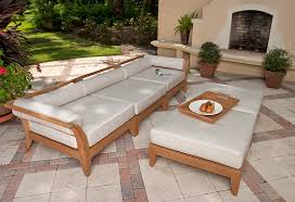 the aman dais 3 pc teak sofa set