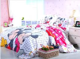 minnie mouse bedding set twin mouse bedding twin girl mickey mouse bedding set cotton single twin full queen dot doona bedroom sets bed sheet duvets