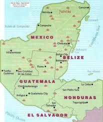 mexico mundo maya maya world mexpeditions Mayan Cities Map Mayan Cities Map #47 mayan city map