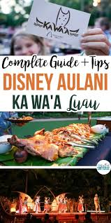 Aulani Luau Seating Chart Complete Guide To Disney Aulani Luau Ka Waa Family Friendly