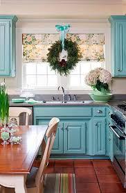 Blue Painted Kitchen Cabinets Simple On Vojnikinfo