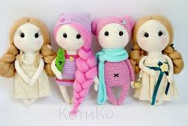 Amigurumi Doll Patterns Simple Crochet Dolls Patterns Amigurumi Easy Video Tutorial