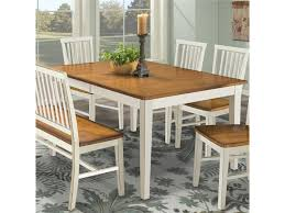 Intercon Arlington Four Leg Rectangular Dining Table Rifes Home