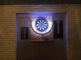 diy led lighting. Exellent Lighting DIY Dartboard LED Lighting  Mostly From Scrap Intended Diy Led L