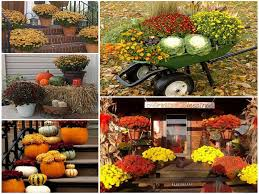 autumn outdoor decorations party