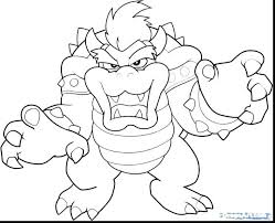 Super Mario Coloring Pages Odyssey Bowser Colouring Sheets Bros New