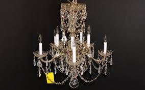 chandelier 1950 s made in spain