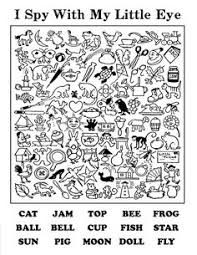 Small Picture Hide and Seek Worksheets Kindergarten and Animal