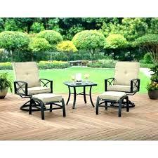 5 piece conversation patio set garden treasures sandyfield steel