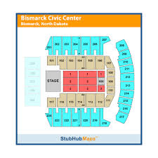 Bismarck Event Center Seating Chart Bismarck Civic Center Bismarck Event Venue Information
